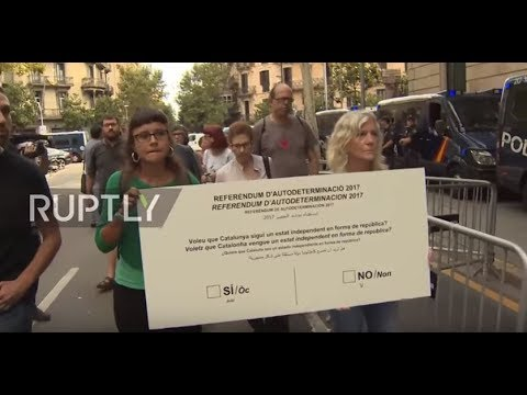 Spain: Pro-Catalan party delivers massive ballot to show commitment to referendum