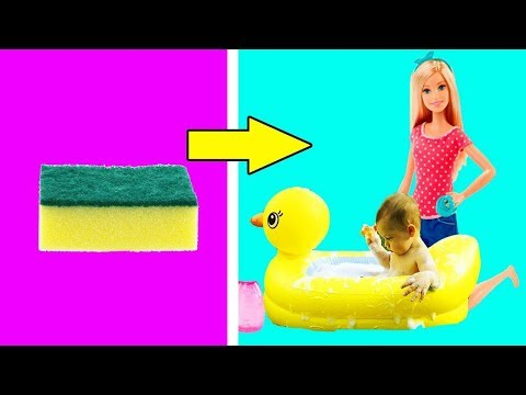 Pregnant Barbie Doll | DIY Barbie Mom Tutorial Baby Clothes | How To Make Pregnant Barbie