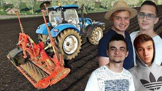 """Nieudana akcja z ziemniakami... + prace pożniwne ✔ FS 19 """"od Zera do Farmera""""#74 MafiaSolecTeam"""