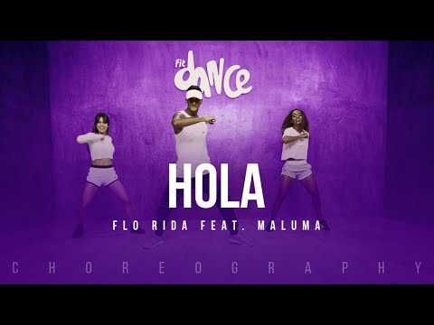 Hola - Flo Rida feat. Maluma   FitDance Life (Coreografía) Dance Video