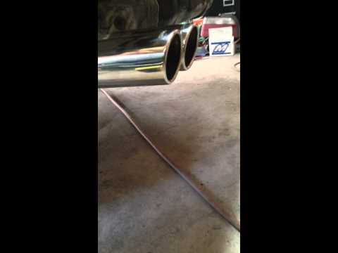 BMW e36 m3 LS3 swap exhaust note at idle