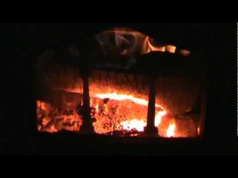 My soapstone wood stove with Catalytic Converter engaged - My Soapstone Wood Stove With Catalytic Converter Engaged - YouTube