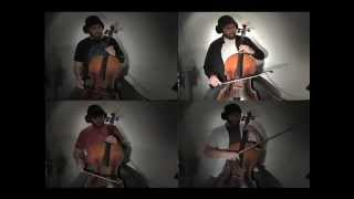 Nothing Else Matters - Metallica / Apocalyptica (cover) with 4 cellos - Mark Doubleday