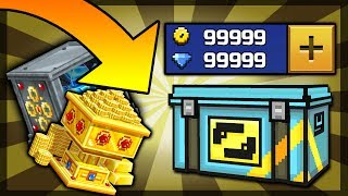 6 Glitches And Tricks You MUST Try In PIXEL GUN 3D! (FAST GEMS) (FREE EXP/COINS) [12.1.1]