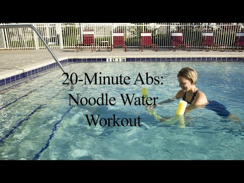 Aqua Noodle: Abdominal Workout WATER NOODLE WORKOUT#2-WECOACH