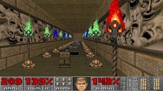 Final Doom: TNT Evilution - Nightmare! difficulty in 1:23:36