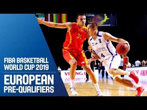 Estonia v MKD - Full Game - FIBA Basketball World Cup 2019 - European Pre-Qualifiers
