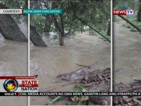 Ilang lugar sa Aklan at Eastern Samar, nalubog sa baha