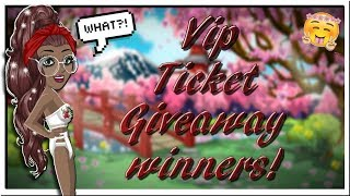 Picking Vip ticket giveaway winners!