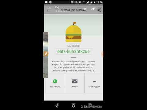 Codigo uber eats