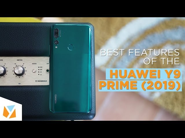 Top 5 Best Features of the Huawei Y9 Prime 2019