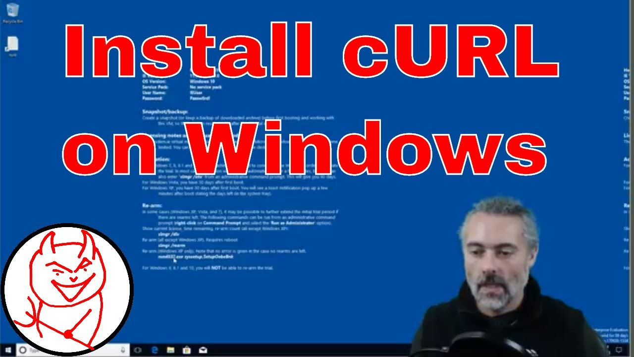 Install cURL from official site on Windows - How to install cURL on Windows