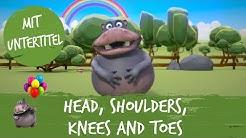 Head, Shoulders, Knees and Toes - HipPo-Pop feat. Nilpferd | Kinderlieder