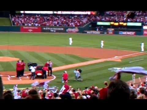 Stan Musial returns to Busch Stadium 2011!
