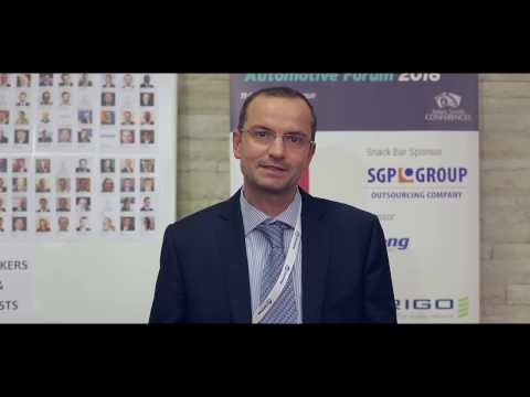 Miroslav Nemeth, Sales Manager, Neuman Aluminium Slovakia - Central Automotive Forum