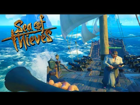 """""""I FOUND SOMETHING NAZZTYY!!"""" - SEA OF THIEVES with The Crew!"""