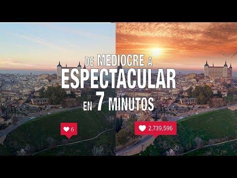 de foto MEDIOCRE a ESPECTACULAR en 7 MIN /TUTORIAL LIGHTROOM + SKYLAB PARA IOS O ANDROID ESPAÑOL