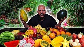 تحدي ١٠ كيلو من الفواكه الغريبة 🍒 Fruit Challenge 10 Kilos