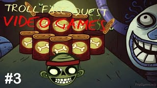 Troll Face Quest Video Games Level 3 IOS/Android Walkthrough