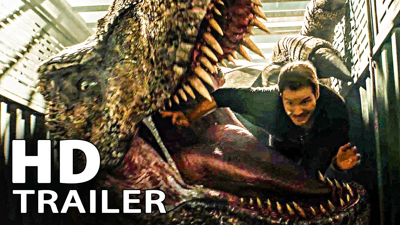 JURASSIC WORLD 2 Trailer 2 (2018)