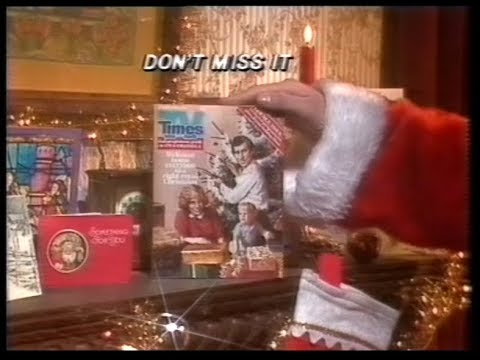 13 December 1983 Thames  Des O'Connor Tonight & TV Times Xmas ad