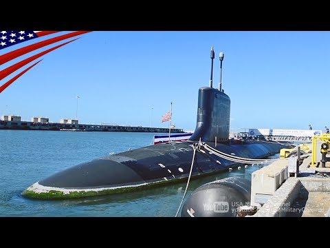 【1隻3,000億円】就役直前の最新鋭バージニア級潜水艦の艦内映像:USSワシントン(SSN-787)