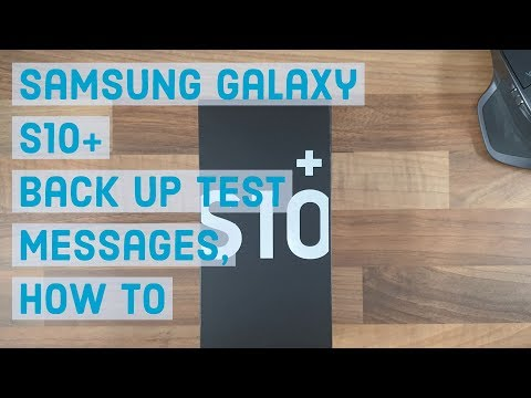 Back up text Messages, How to | Samsung Galaxy S10 Plus from YouTube · Duration:  1 minutes 37 seconds