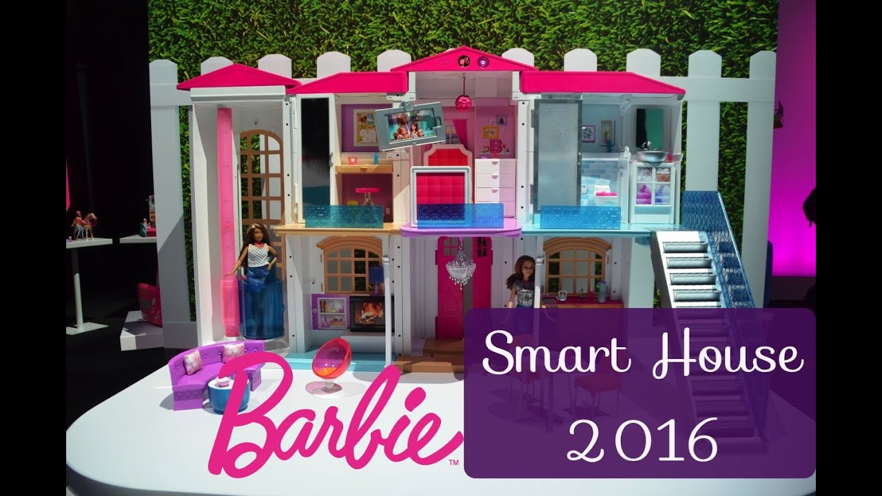 10 awesome barbie doll house models - 2016 Barbie Barbie Hello Dreamhouse Toy Fair Ny Youtube