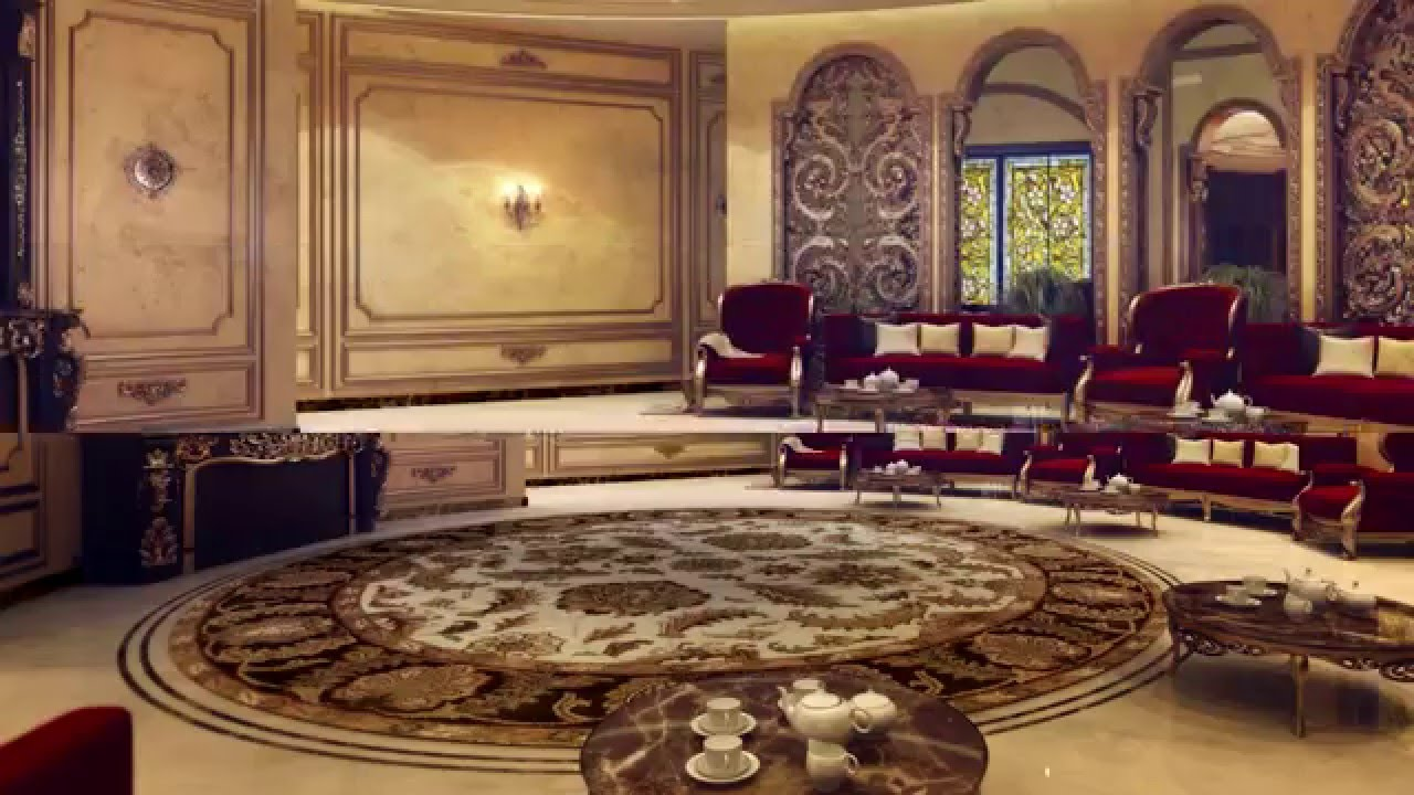 Interior Design Presentation - Living Room Design- Majlis ...