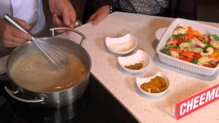 Perogy Mushroom Soup Vegetarian Curry Casserole
