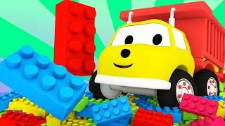 Lerne mit Ethan - Lerne Formen mit Lego - Ethan der Kipplaster 🚚 Lehrreiche Cartoons für Kinder