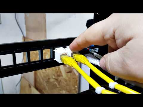 #017: Working With Keystone Patch Panels