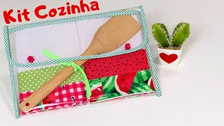 DIY Kit Cozinha – Conjunto de toalha de chá DIY