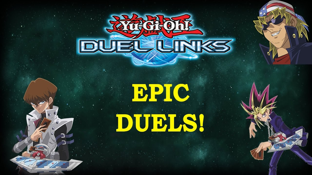 epic duels online pvp duels yu gi oh duel links youtube
