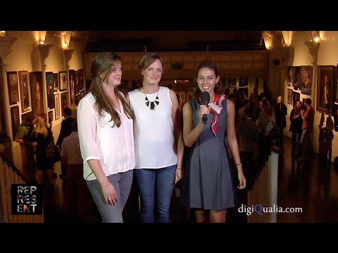 Interview with Georgina Stanley and Olivia Crane. REPRESENT LONDON 2014