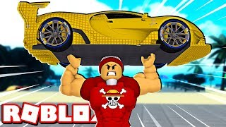I was giant and RAISED 1 million KG in ROBLOX → Weight Lifting Simulator 3 🎮