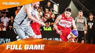 Indonesia vs Andorra - Full Game - 2016 FIBA 3x3 World Championships