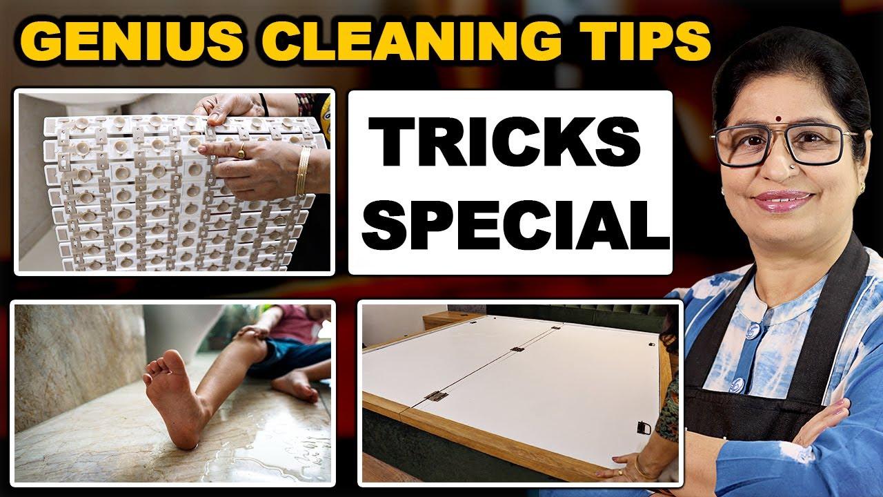 मुसीबतों से बचना है तो यह वीडियो ज़रूर देखिये   Intense Bedroom Cleaning Tips   Cleaning Hacks  