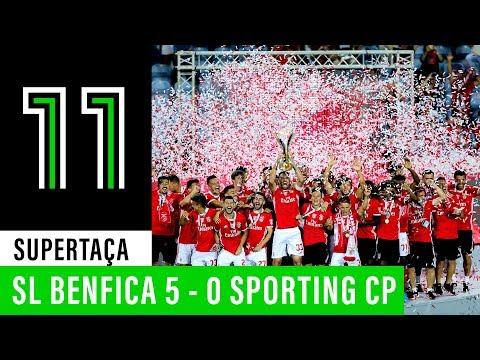 Supertaça Cândido de Oliveira Vodafone: SL Benfica 5 - 0 Sporting CP