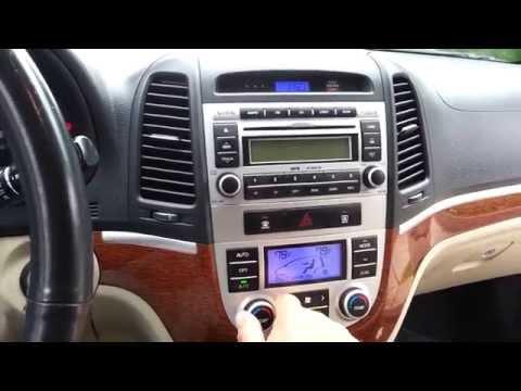2008 Hyundai Santa Fe Limited with A/C Climate control