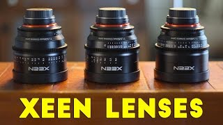 Xeen Cinema Lenses & Visual Storytelling Tour