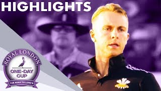 Dramatic Finish At Hove! | Sussex v Surrey | Royal London One-Day Cup 2019 - Highlights