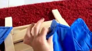 Opening The Ag Doll Bed From Ikea.                Sorry For The Quietness