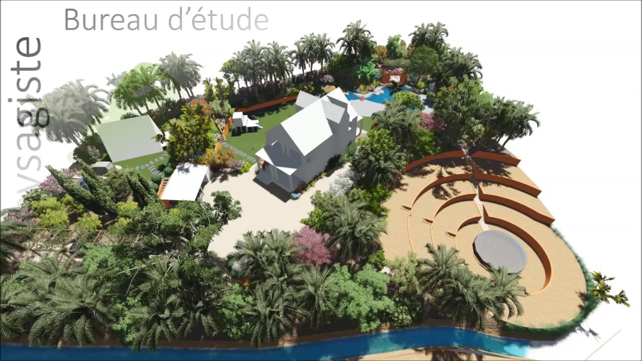 Bureau D Étude Paysage eco-paysagiste en ligne, bureau d'étude : plan d'aménagement