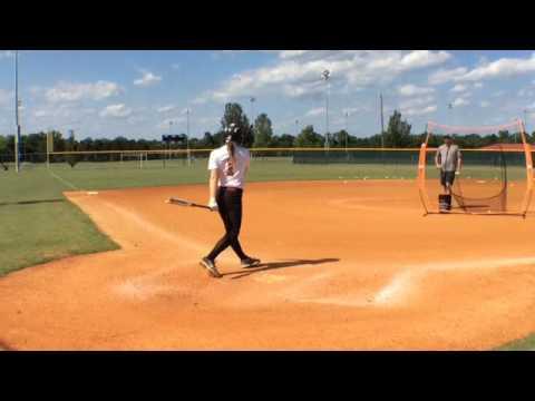 Macey Petrey (2017) Softball Video