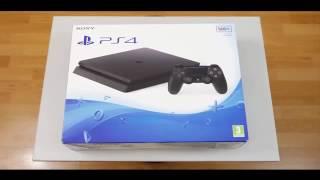 فتح صندوق بلاي ستيشن 4 سليم لاول مرة PS4 slim