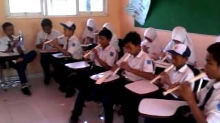 Musik Ansambel Campuran Versi SMP 1 Keruak LOTIM