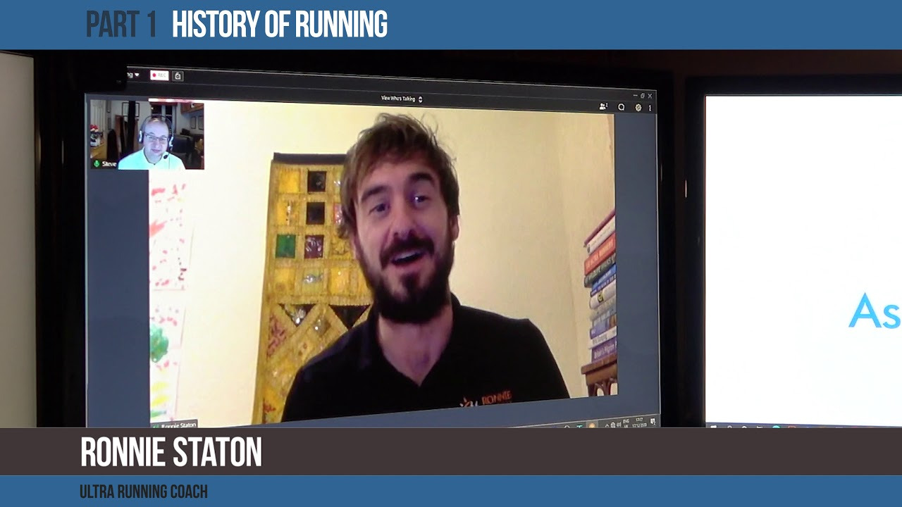 An Interview with Ultra Running Coach Ronnie Staton - 1.  History of Running