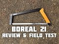 Boreal 21 Folding Buck Saw (Review and Field Test)