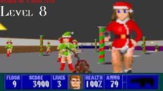 Wolfenstein 3D: Xmas Special (DOS) Level 8